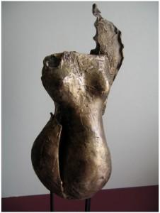 ALLEGLORIA - Bronze - 20x20 cm - 2 kg