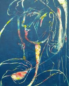 BRAINSTORMING 2 - 65x81 cm - Huile sur toile