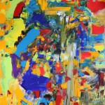 CUIDAD - 65x81 cm - Acrylique sur toile
