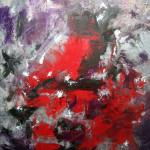 ORAGE - 60x73 cm - Huile sur toile