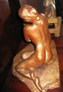 SYRENE - Terre cuite - 20x20x15 cm
