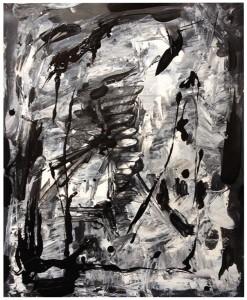 SANS TITRE 1 - 40x50 cm - Acrylique sur papier