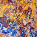 SOUFLE 1 - 65x81 cm - Huille sur toile
