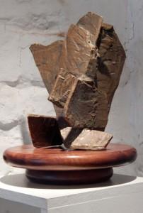 DECHIRURE - Bronze (cire perdue) - H27xL20 cm - Poids 4 kg