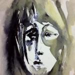 SELF PORTRAIT - 13x18 cm - Encre sur papier