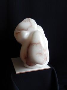 SERENITY - Albâtre - L32xl40x32 cm - Poids 13 kg
