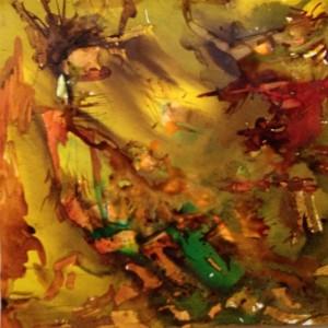 SERIE LUMIERES 3 - 40x40 cm - Encre sur papier