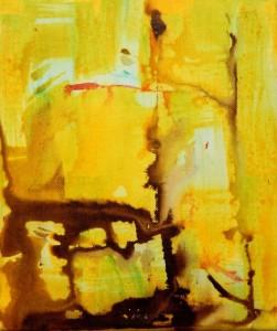 SONORITE 2 - 25x30 cm - Encre sur toile