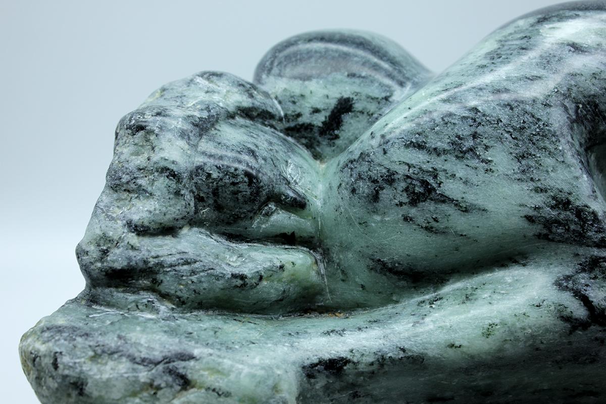 ETREINTE sculpture en stéatite