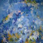 CALME AVANT LA TEMPETE - 65x81 cm - Huile sur toile