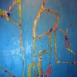 RESILIENCE - 87x130 cm - Huile sur toile