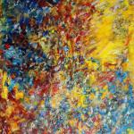 SOUFLE 2 - 65x92 cm - Huile  sur toile