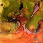 SERIE LUMIERES 1 - 30x30 cm - Encre sur papier